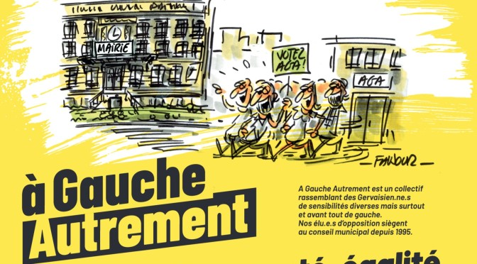 Pourquoi voter à Gauche Autrement au Pré-Saint-Gervais