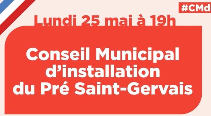 Retour sur le conseil municipal d'installation du Pré-Saint-Gervais