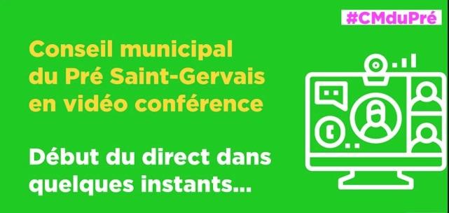 Suivre le conseil municipal de Pré en direct sur le net